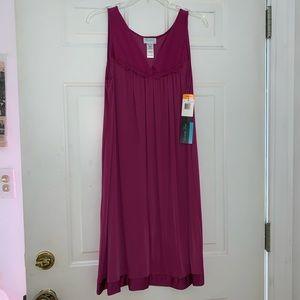 Vanity Fair Pajama Nightgown Plumberry